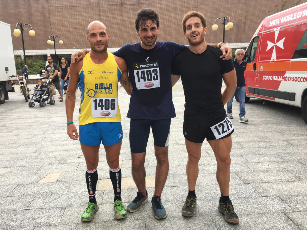2018 Urban Trail Podio maschile 12 Km